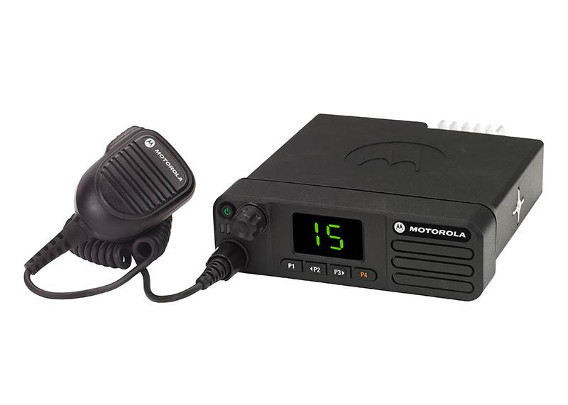 DM 4400 Frontansicht Digitalfunkgerät