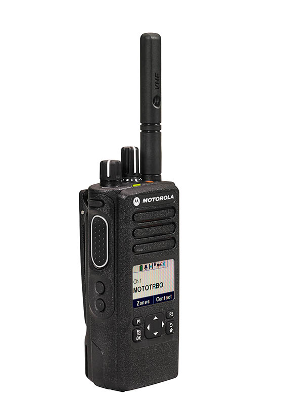 DP 4600 Links Front Mototrbo