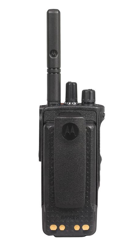 DP 4801 Funkgerät hintere Seite