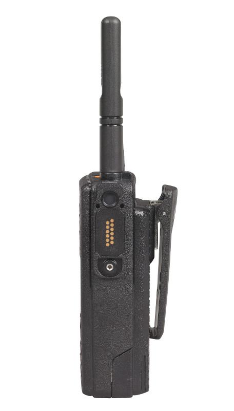 Motorola DP 4801 Digitalfunkgerät rechte Seite